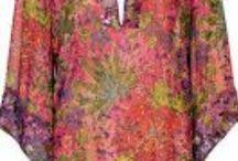Moda y moldes / Modelos de ropa y algunos moldes para realizar piezas textiles.