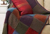 Mantas Tejidas / Mantas que encantan con diseño y color.