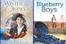 Vanessa and Marie's Fabulously Fruity Holiday Recipes / Recipes featuring oranges and/or blueberries, brought to you by authors Vanessa North and Marie Sexton, in celebration of their novels BLUEBERRY BOYS and WINTER ORANGES (available from Riptide Publishing, November 30, 2015).