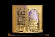 Book Art / An inspirational board - giving books a second life!