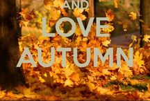 Autumn...My favorite time of year! / Autumn Love!!
