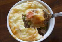 Casseroles .... / Comfort Food! :)