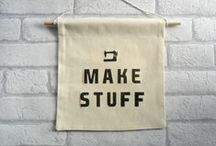 Make This! / Clever crafty ideas - Crochet, embroidery, jewellery, seasonal, recycling, garden...