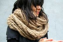 Scarf  / Crochet-Knitting-patterns