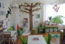 play therapy rooms / Oyun terapisi için oda örnekleri
