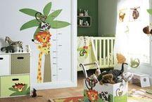 baby room / özellikle safari temalı bebek odası örnekleri, aksesuarları, fikirleri