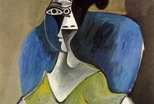 Picasso, Van Gogh, Monet, Klimt, Chagall, Matisse