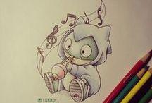 Drawings Pokémons