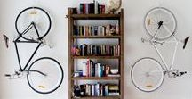 Bicycle racks for home / Want to store you bicycle in the best and safes way? Make it a part of you home design. Here are some useful ideas: https://www.biciclop.eu/blog/2018/depozitarea-bicicletei-pe-timp-de-iarna/