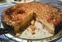 Tarta de turron / Golosolandia: Taras y postres caseros Recetas fáciles en: http://www.golosolandia.blogspot.com