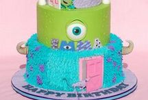 Monsters Inc Party -ify! / Everyone's favorite Monster Inc characters rounded up for your favorite little monster's birthday party.  Visit our complete scare-tacular collection of party supplies here: https://www.partyify.com/monsters-inc-birthday-party-supplies.aspx?afid=2