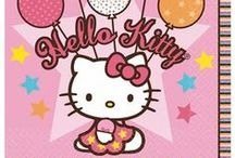 Hello Kitty Party-ify! / If you're looking for Hello Kitty party ideas, you've come to the right place! Here you'll find Hello Kitty costumes, party supplies, and inspiration to make your party the best! Take a look at Party-ify!'s selection of Hello Kitty party supplies here: http://www.partyify.com/Hello-Kitty-Birthday-Party-Supplies-C505.aspx?afid=2
