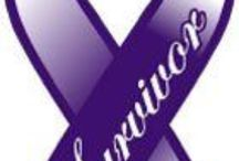 Purple Ribbons / Awareness and support for chronic pain, Alzheimer's , fibromyalgia , Sjrogens , depression, chrohn's, ADHD, Lupus, domestic violence, emotional abuse and others. / by Leslie Miller