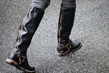 B O O T - M E - U P / ankle boots ☆ leather boots ☆ tall boots ☆ over-the-knee boots ☆ heeled boots ☆ sexy boots / by ProShopaholic