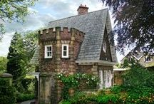Dreamy Homes / Some beautiful houses real and not :)