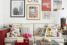 Salas de estar | Living / Para inspirar a decoração do seu apartamento novo.