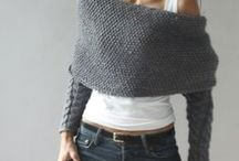 Le fil atout / Patterns knit crochet ideas / by Colette Béïque