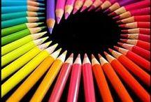 Multi - couleurs / by Colette Béïque
