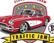 Troy Traffic Jam / Annual Classic Car Show.  The major fundraiser for Troy Historic Village.