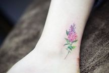 tattoos / flower tattoos  // tatuaże kwiatowe
