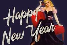 Vintage:  Happy New Year / by Hal Brower