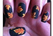 AUTUMN NAILS / Inspiracje na jesienny manicure