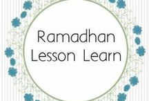 Ramadhan Lesson Learn