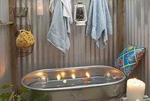 Salles de bains extérieures