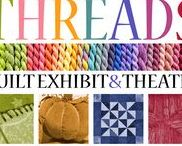 THREADS Quilt Exhibit and Play / See over 100 traditional & contemporary quilts on display at the Village from August 7-18, 2017.   http://troyhistoricvillage.org/threads-quilt-exhibit-theatre/