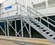 Industrial Galvanised Staircases and Walkways