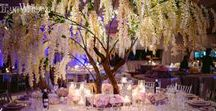 """Enchanted Forest Wedding"" / This stunningly lavish wedding by R5 Event Design- As featured in Elegant Wedding Magazine and on their Blog!"