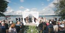Beautiful Cottage Wedding by the Lake / Beautiful Cottage Wedding- designed by R5 Event Design