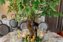 Under the Tuscan Sun / A beautiful event designed with lemon trees, greenery, beautiful accents inspired by the beauty of Tuscany. By R5 Event Design