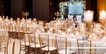A Gold and White Romantic Candlelit Wedding- by R5 Event Design / •Full service event decor, design and florals by: R5 Event Design •Photography by: Purple Tree Photography •Venue: Beth Tzedec Congregation