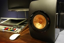 KEF LS50 @ Studios 301 / We paid a visit to Studios 301 to see the KEF LS50 in action.