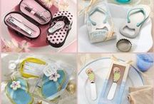 Flip Flop Party Favors / Beach party is here!  Our beautiful flip flop favors are perfect for your beach themed wedding, baby shower, bridal shower and other parties.