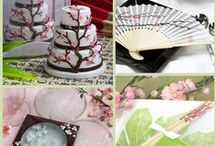 Cherry Blossom Favors / Cherry blossom, like a bride to her groom. Find you inspiration with the cherry blossom favors for you wedding, bridal shower, parties and more.