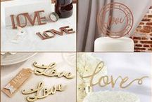 Love Themed Wedding Favors / Love means that the couple fall in love each other.  Love themed wedding favors are perfect for wedding shower favors, bridesmaids gifts, wedding party favors, engagement favors and wedding anniversary favors.