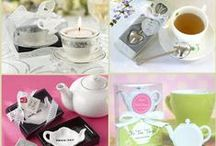 Tea Themed Party Favors / It is tea time here! Tea favors are good for afternoon tea party or tea themed wedding.