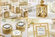Gold 50th Wedding Anniversary Gifts / Golden anniversary is traditional celebration of 50th wedding. We carry a large gold favors such as gold frame, gold 50th anniversary candle, gold 50th anniversary bottle stopper . We also have personalized 50th anniversary favors.