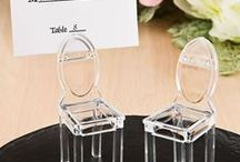 Place Card Holder Favors / Place card holders are the perfect wedding favor or party favor for your special occasion.