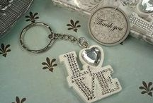Keychain Favors / Keychain or key chain favors are for wedding, bridal shower and baby shower.