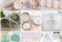 Cute As A Button Baby Shower Idea / Cute As A Button Baby Shower Ideas
