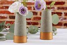 Bud Vases / Bud vase for wedding or party centerpiece