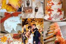 Fall Wedding Ideas / Fall or autumn wedding ideas