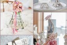 Paris Themed Wedding Ideas / Paris themed wedding ideas are also called Eiffel Tower Wedding Ideas.