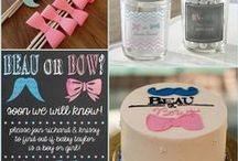 Gender Reveal Party Ideas / It is a boy or girl? Let's have a party of gender reveal!