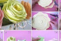 kwiaty / Ręcznie wykonane i inne fajne