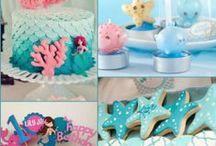 Mermaid Under The Sea Birthday Party / Mermaid Under the Sea Birthday Party Ideas
