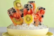 Zelf maak fruit ijsjes / Lekkere fruitijsjes voor de zomer om zelf te maken